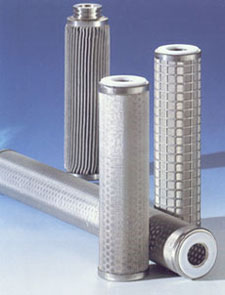 All Welded Stainless Steel washable filter cartridges