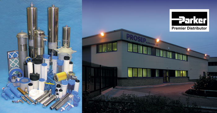Prosep Filters Premier Distributors for Parker