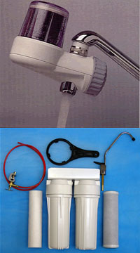 Filtration spares and accessories for domestic drinking water filtration