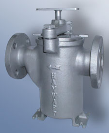 Model 50 Plug Type Duplex Basket Strainer
